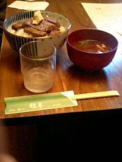 名古屋にて(飲食:ステーキハウス橋本)