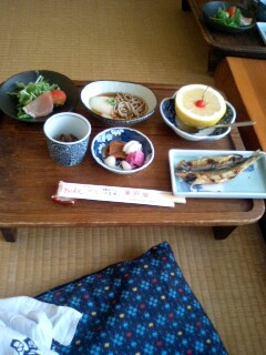 旅行:良い湯、良い朝食