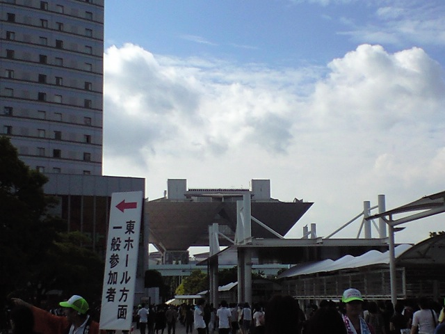 会場到着〜(CM74)